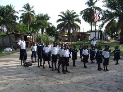 STUDENTS AT DOUBLE BRIDGE (CURRENT HOME)