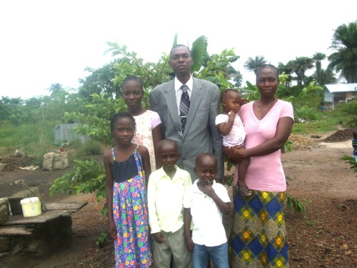 PASTOR JAMES KARTEE & FAMILY . BRAINS BEHIND THIS PROJECT