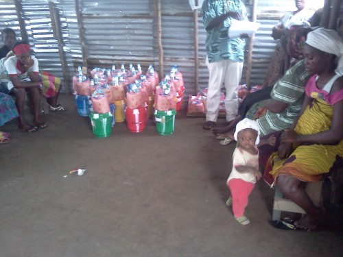 RELIEF ITEMS READY FOR DISTRIBUTION